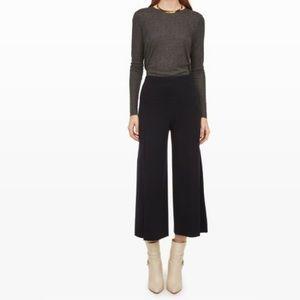 Club Monaco Jemma sweater pant -woolblend culottes